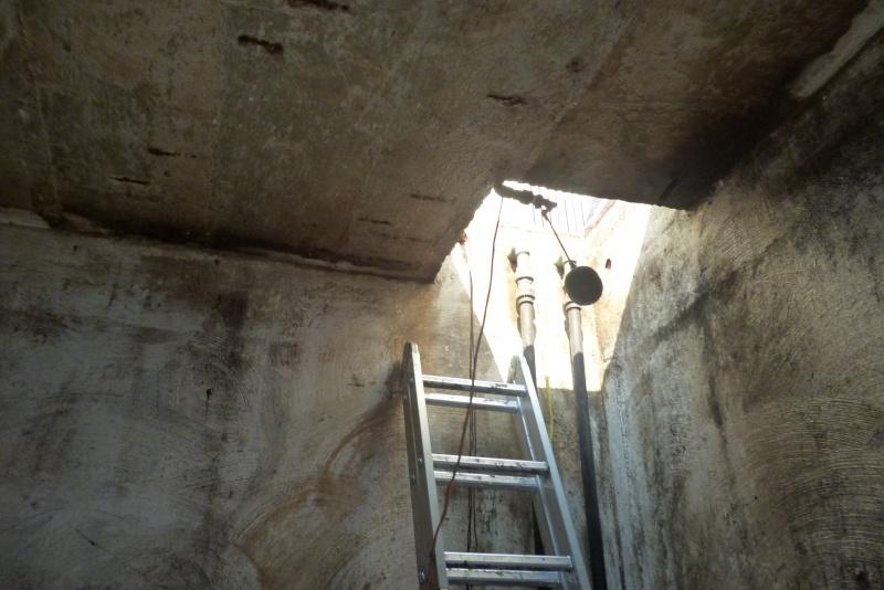 preceso de impermeabilizacion  de  cisterna